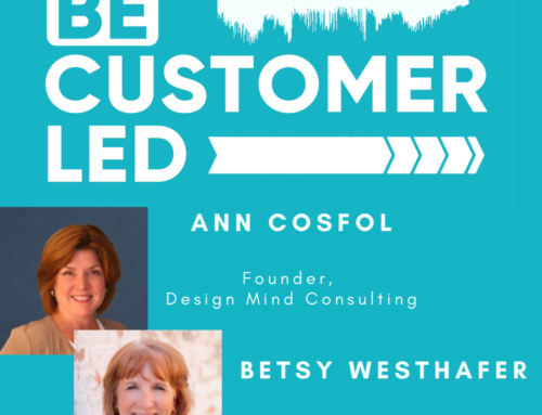 Ann Cosfol and Betsy Westhafer Run Their Own Consulting Practices and We Focus on CX/EX in B2B